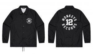 #12 Coach Jacket / Noir