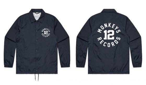 #12 Coach Jacket Blue Navy